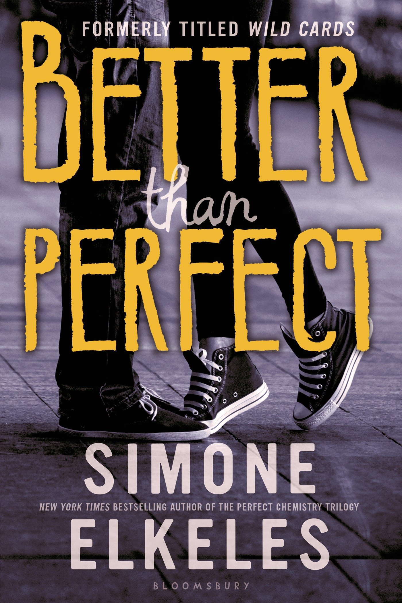 Amazon: Better Than Perfect (wild Cards) (9780802737250): Simone  Elkeles: Books