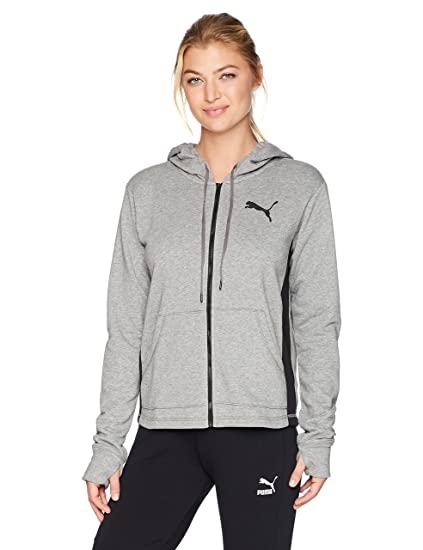 PUMA Women s Spark Sweat Jacket at Amazon Women s Clothing store  7db17a512a