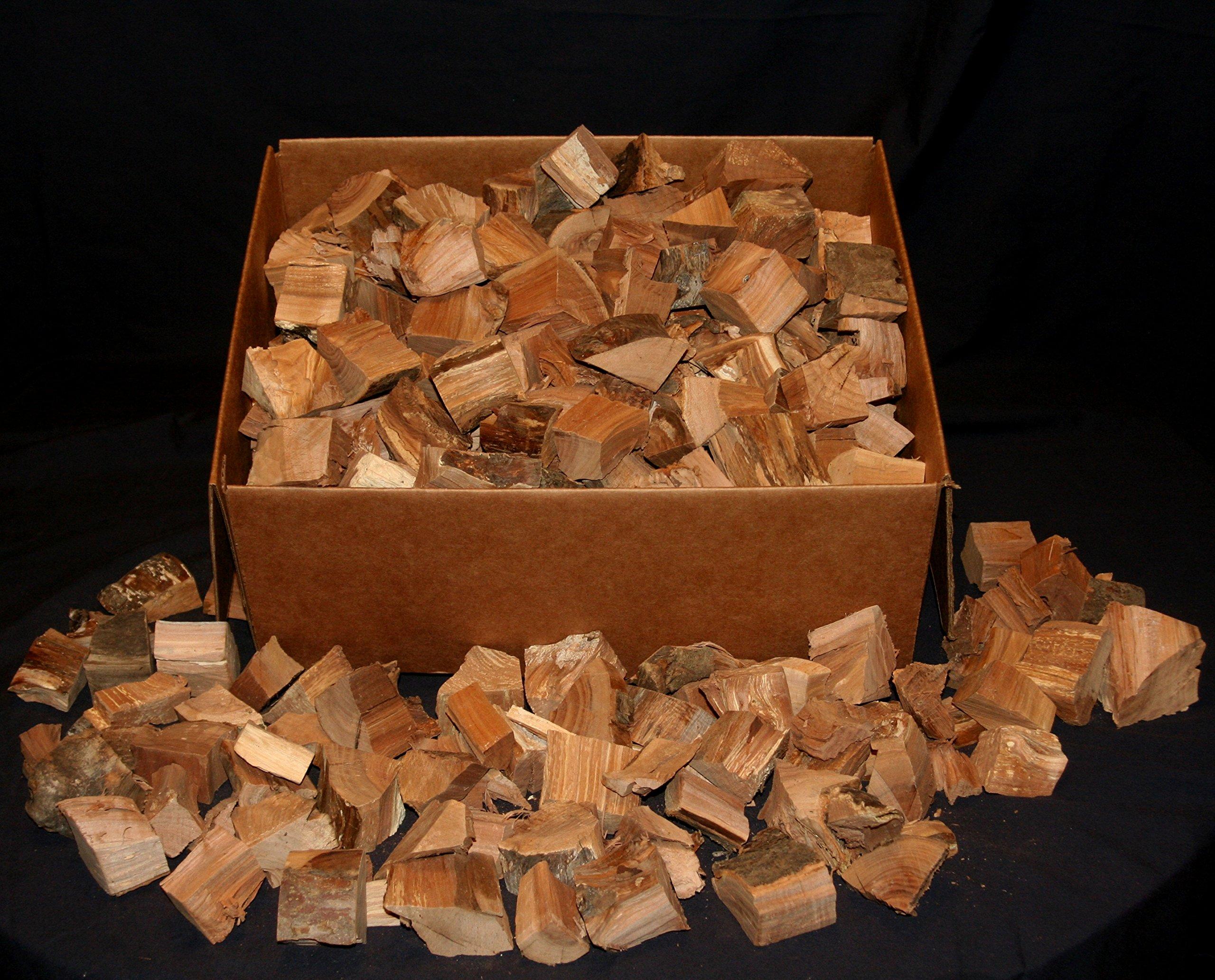 J.C.'s Smoking Wood Chunks - 19#'s/1500 Cu in of Bulk Chunks - Oak by J.C.'s Smoking Wood Products