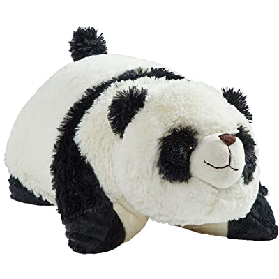"Pillow Pets Originals Comfy Panda, 18"" Stuffed Animal Plush Toy: Toys & Games"