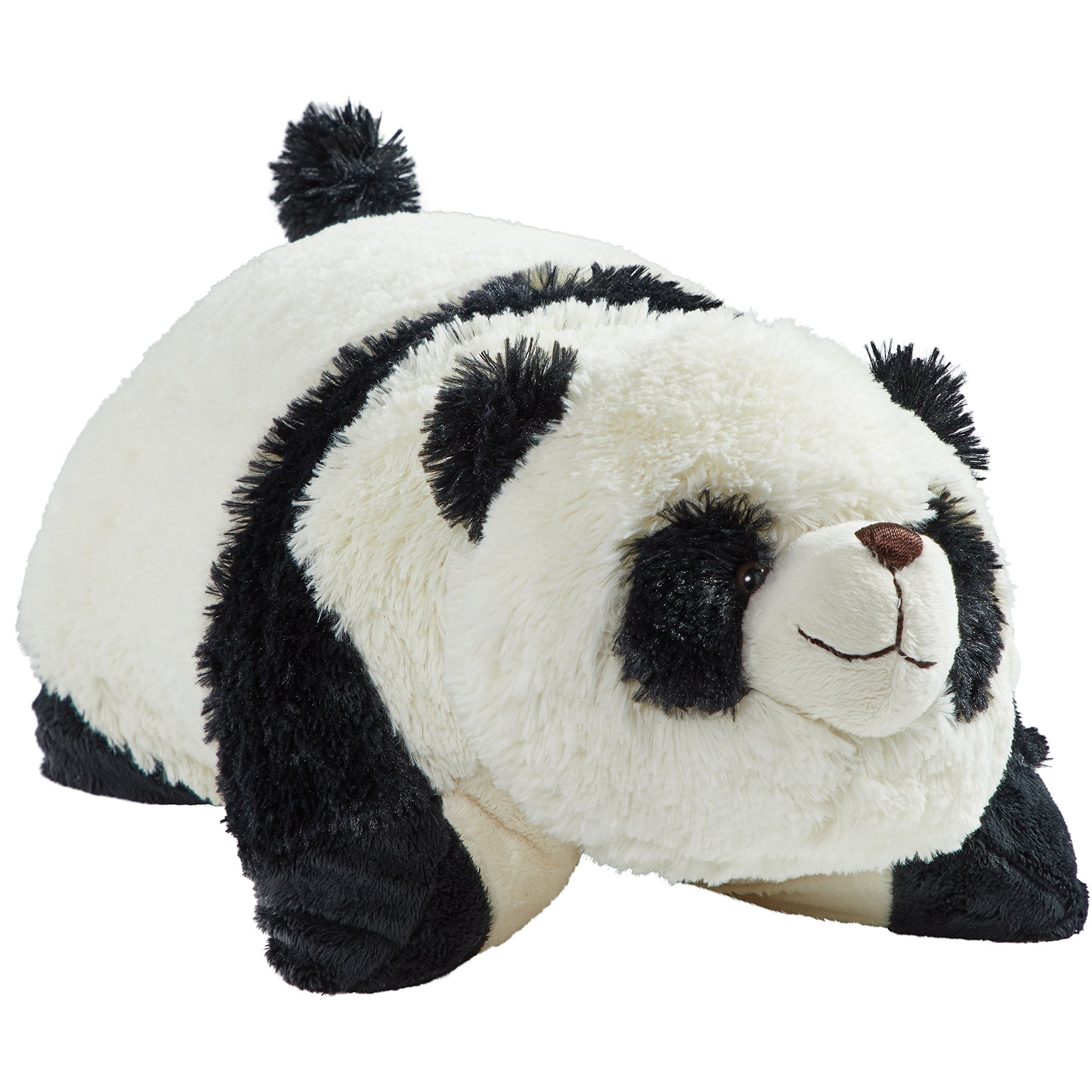 Pillow Pets My Signature, Comfy Panda, 18'' Stuffed Animal Plush Toy by Pillow Pets