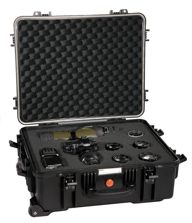 Vanguard Supreme 53F - Maletín resistente para cámara réflex Cámaras, negro: Amazon.es: Electrónica