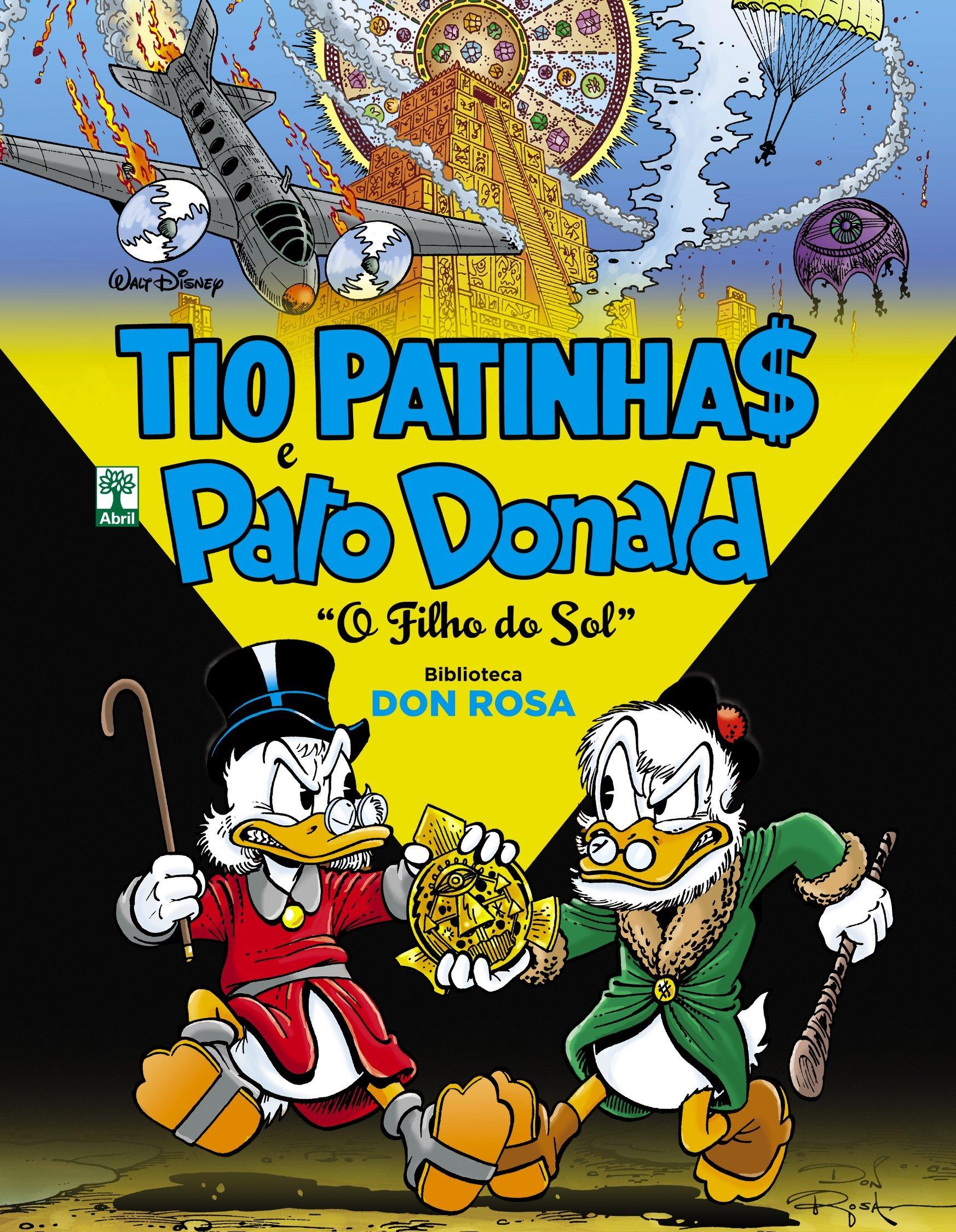 Tio Patinhas E Pato Donald Biblioteca Don Rosa O Filho Do