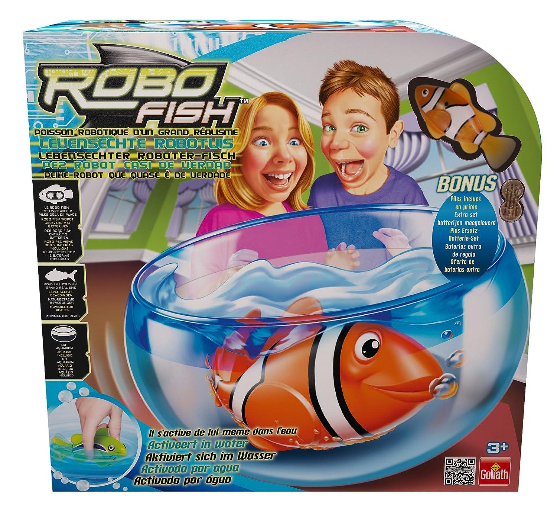 pez payaso robot