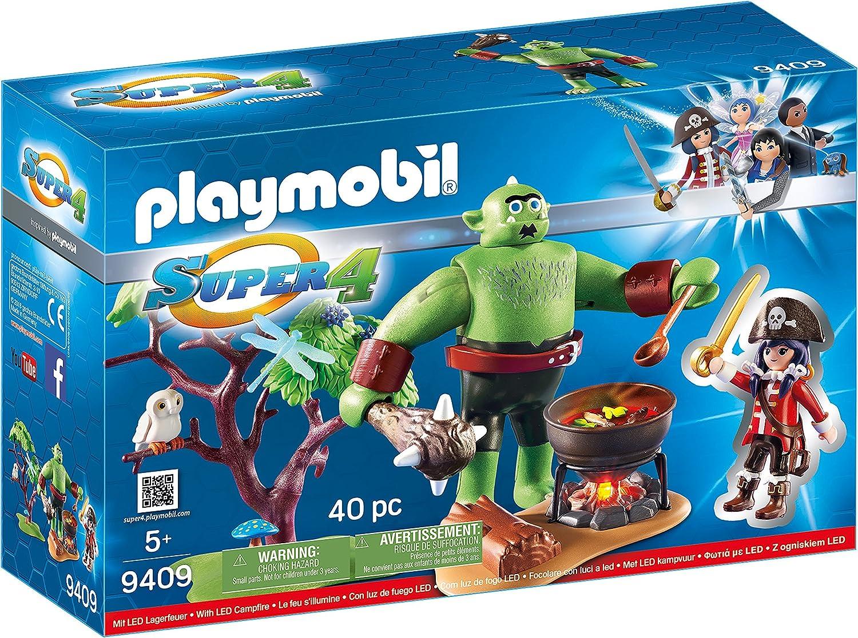 PLAYMOBIL Ogro con Ruby Muñecos y Figuras, Multicolor, 9,3 x 28,4 ...