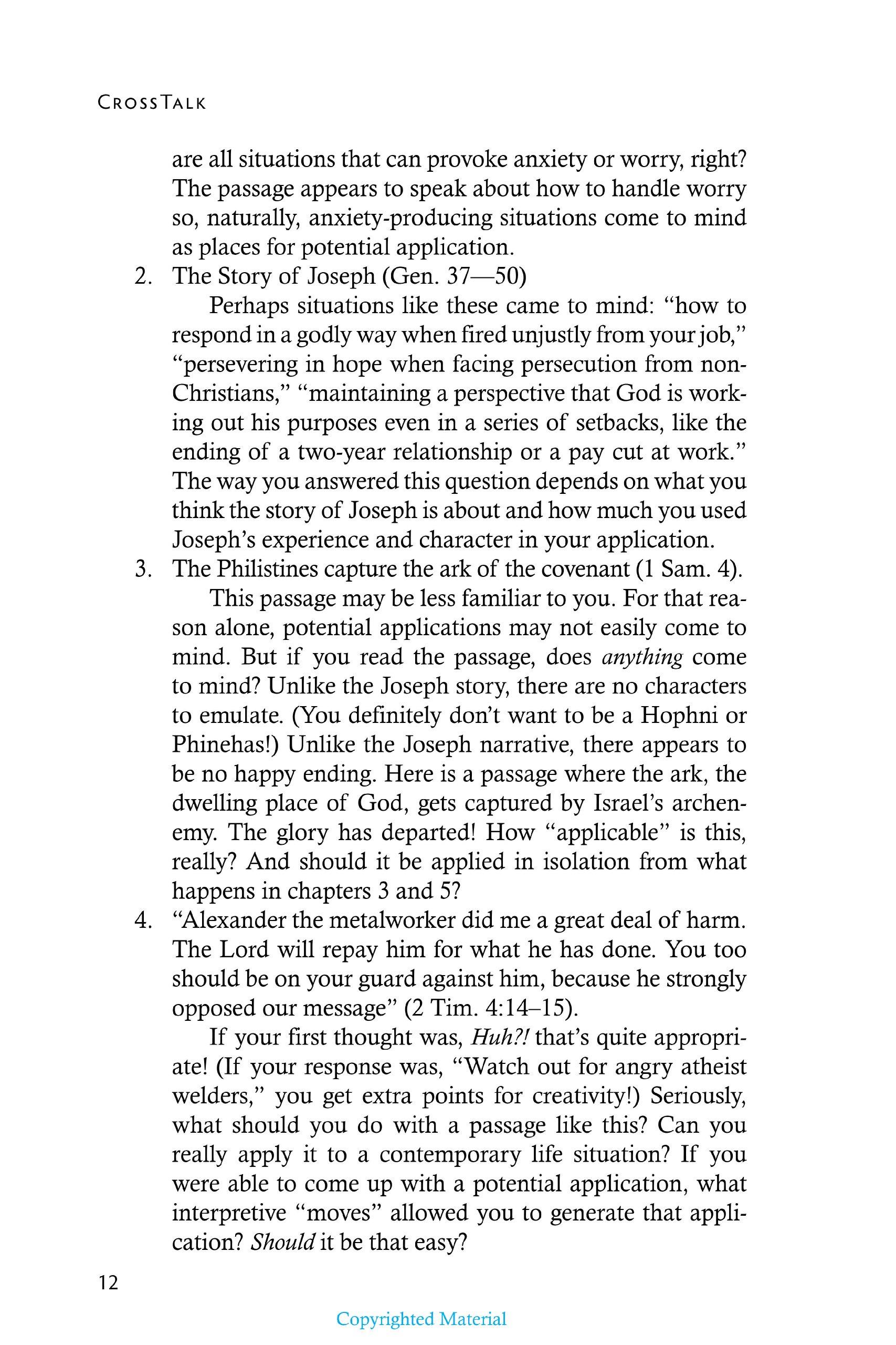 CROSSTALK WHERE LIFE AND SCRIPTURE MEET: Amazon.co.uk: EMLET