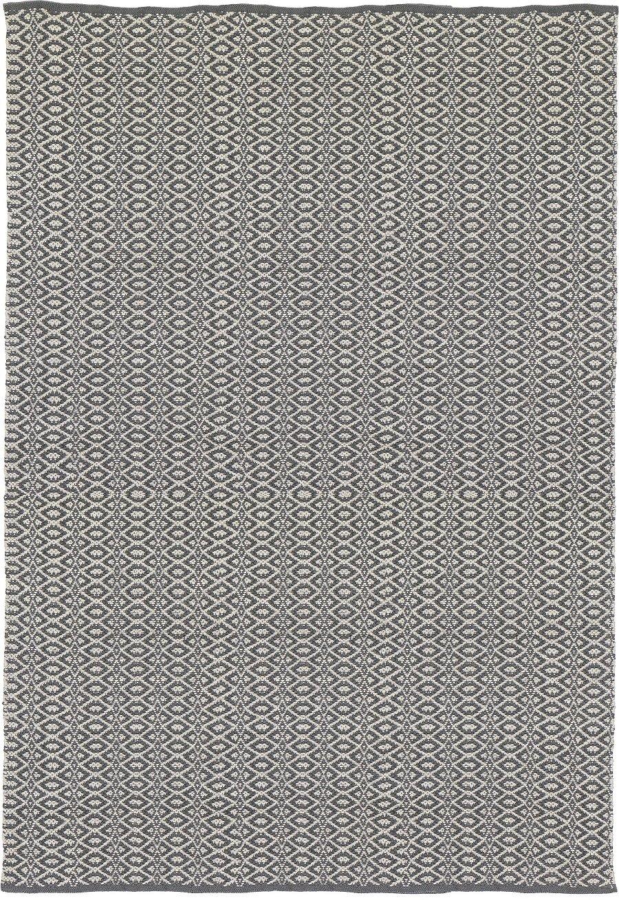 Liv Baumwolle Teppiche und Läufer – Bergen – Grau, 70 x 200cm