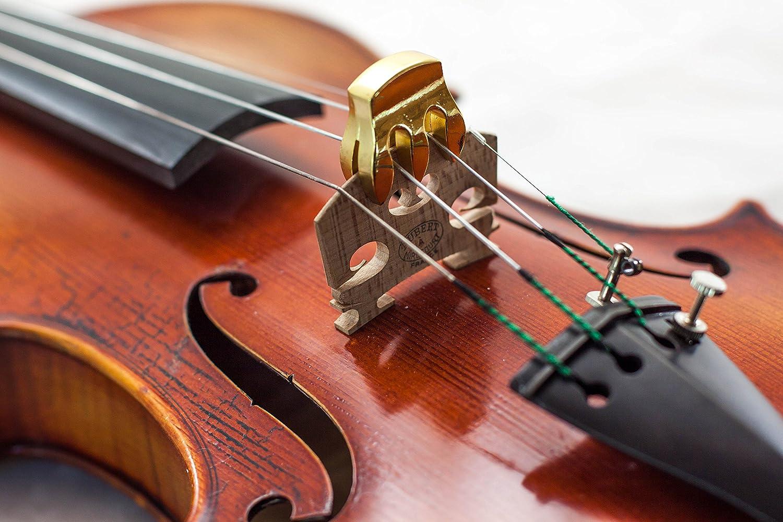 Brand New Lightweight Heavy Rubber 4//4 Violin Small Viola Practice Mute Blue Rubber