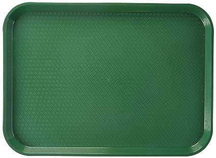 Thunder grupo rectangular de plástico Bandeja de Comida rápida, 12 por 16 – 1/