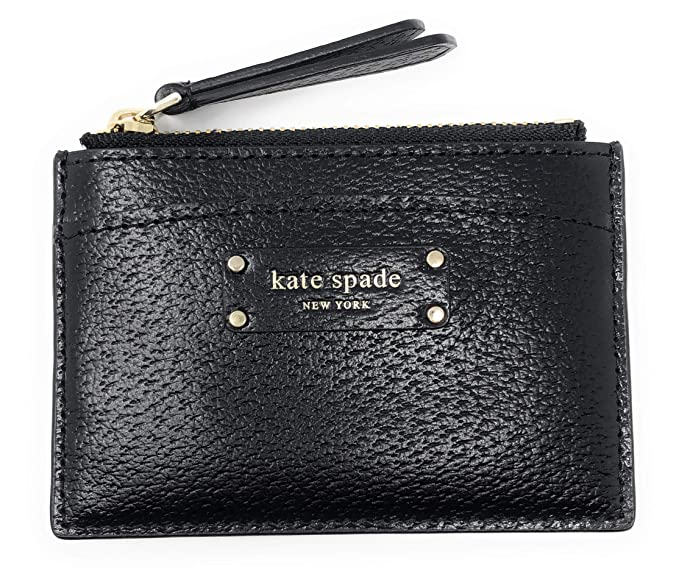 kate spade card wallet  Kate Spade New York Jeanne Small Pebbled Leather Card Wallet ...