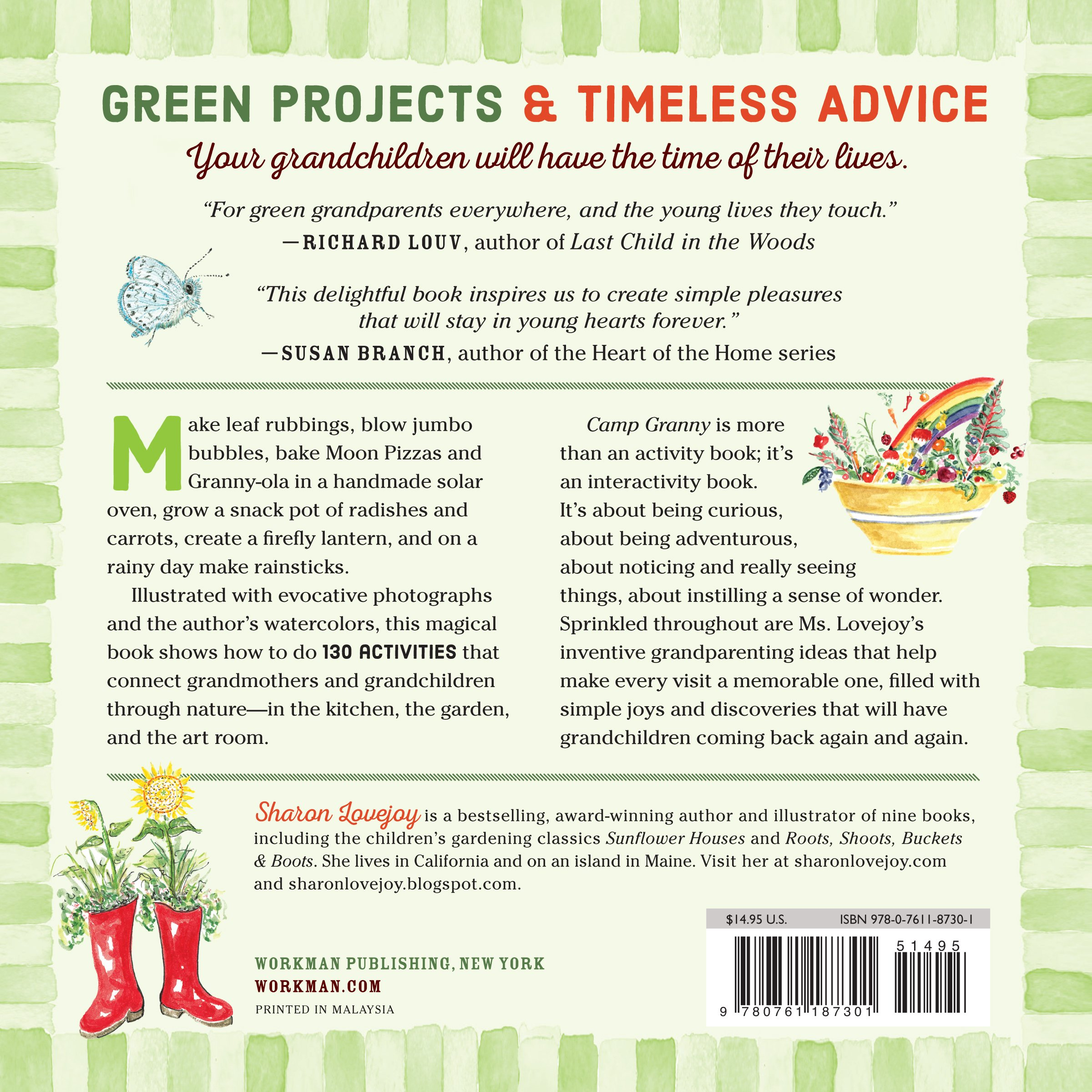 Camp Granny: Sharon Lovejoy: 9780761187301: Amazon com: Books