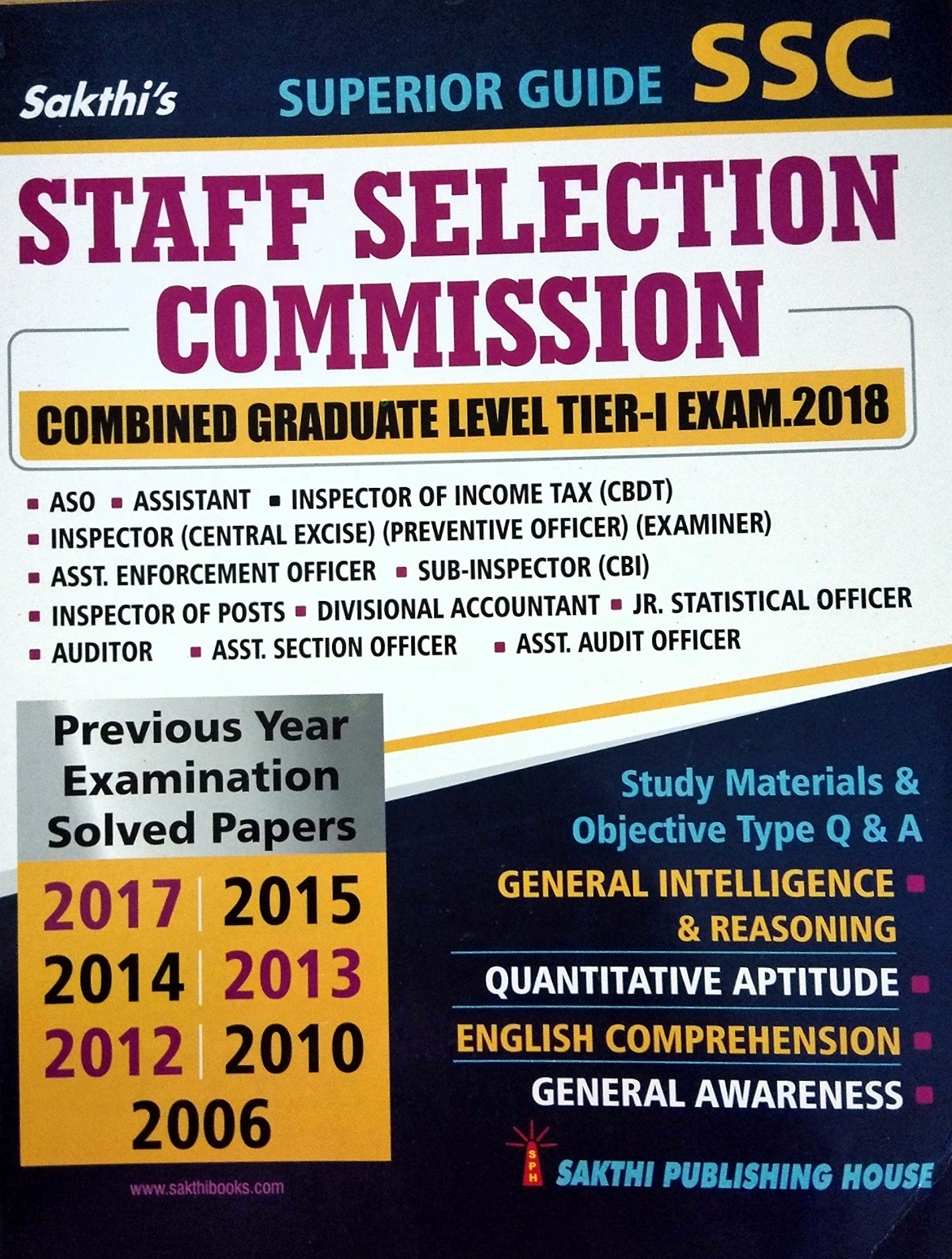buy ssc staff seletion commission combined graduate level tier i rh amazon in