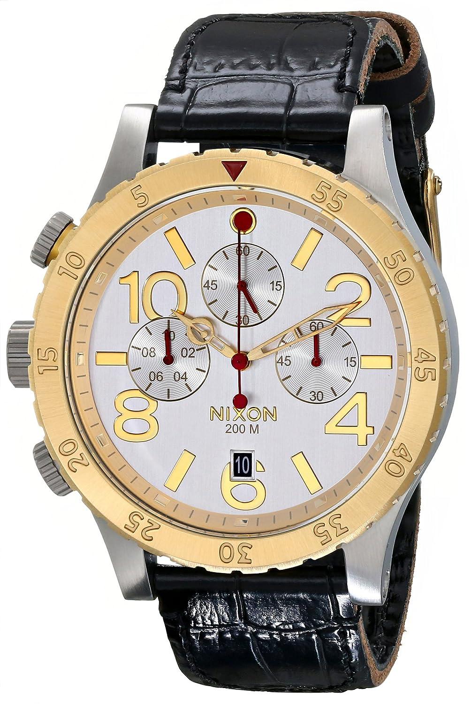 NIXON A3631884 Reloj de Pulsera Hombre, Color Negro: Nixon