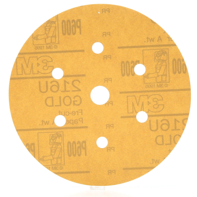 3M 00923 Hookit Gold 6 P600A Grit 216U Paper Disc