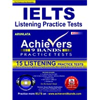 Achiever IELTS 9 Bands IELTS Listening Practice Tests Kit (15 ielts Listening Practice Tests with Transcripts including 5 High Quality Moserbaer CD's with Answer Keys) Voice Content & Reading Format as per IDP & British Council