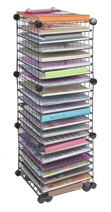 Iris Scrapbook Organizer Cart Iris Usa Inc 260375
