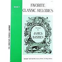 WP75 - Favorite Classic Melodies Level 3 - Bastien