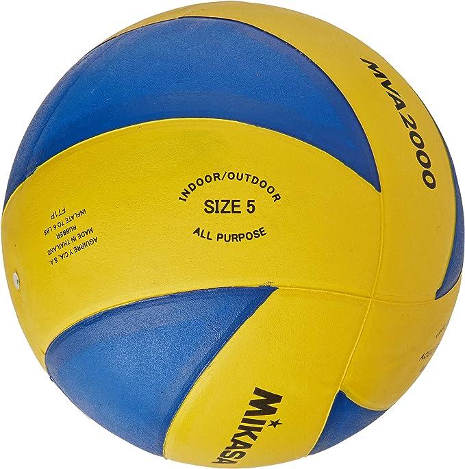 Mikasa MVA-2000 Soft Balón de Voleibol, Adultos Unisex, Azul y ...