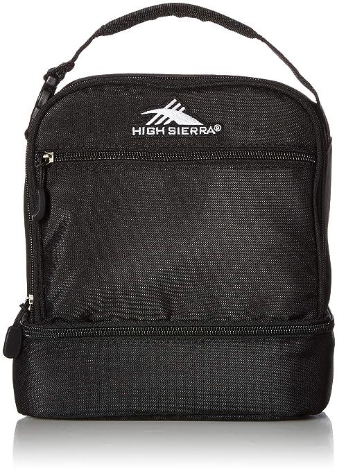 Bolsa de Almuerzo con Compartimento apilado de Alta Sierra, Color Flamingo/Charcoal/White, tamaño Talla única: Amazon.es: Deportes y aire libre