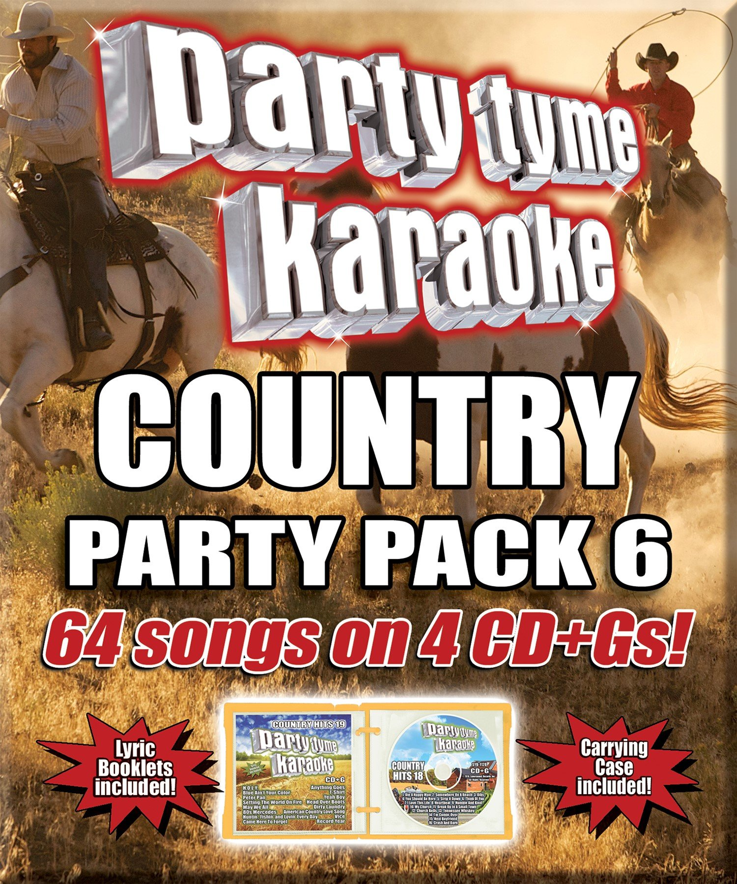 Party Tyme Karaoke - Country Party Pack 6 by Sybersound