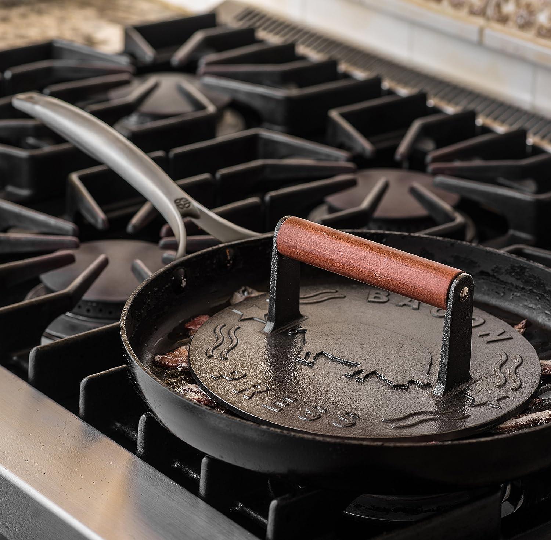 Amazon.com: Bellemain prensatelas de hierro fundido para ...