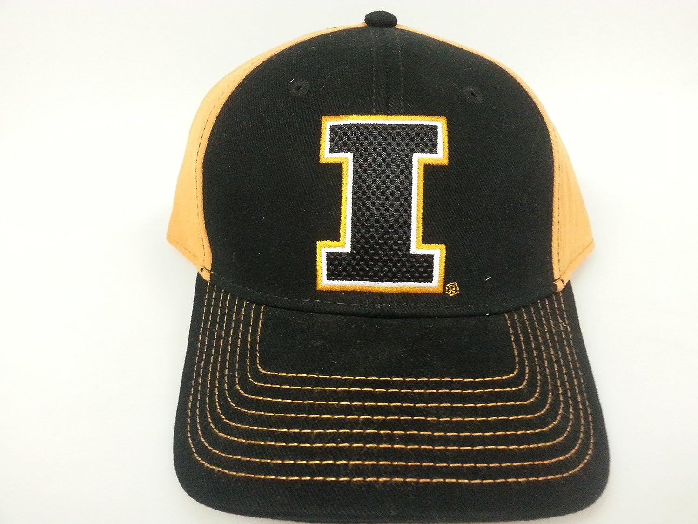 NCAAスポーツ新しい。イリノイfightimg Illiniバック調節可能な刺繍キャップ B07C95RJSD