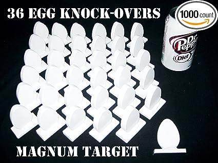 6pc Metal Target Set 3//8in Steel Targets 5in IDPA Knockover Shooting Targets