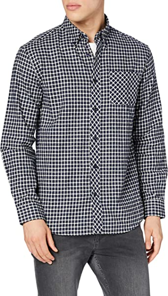 THE INDIAN FACE 15-002-01 Camisa, Multicolor (Cuadros), M ...