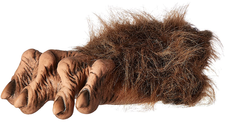 Amazon.com Zagone Werewolf Feet Brown Faux Fur Latex Toes/Feet Clothing  sc 1 st  Amazon.com & Amazon.com: Zagone Werewolf Feet Brown Faux Fur Latex Toes/Feet ...