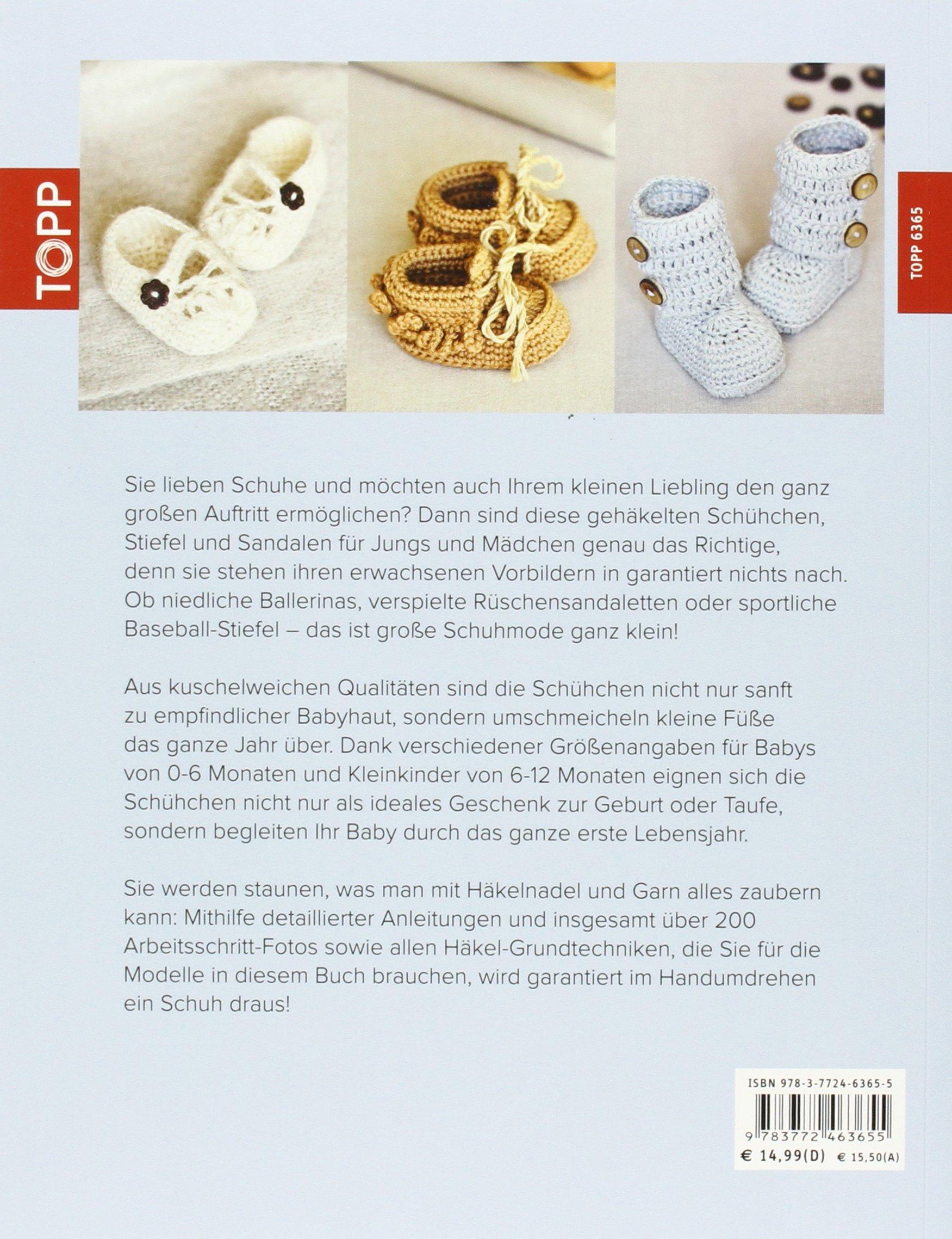 Häkeln für kleine Füße: 30 bezaubernde Schühchen, Sandalen und ...