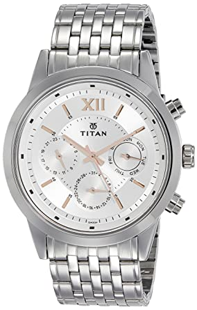 025d9a7a38c Buy Titan Neo Analog Silver Dial Men s Watch - 1766SM02 Online at ...