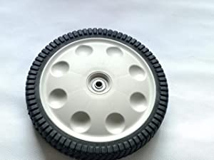 shiosheng 1pcs Rear Wheel Replacement for MTD Troy- Bilt 734-04019 12 X 2.125