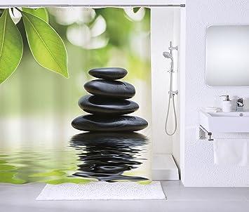Duschvorhang, Viele Schöne Duschvorhänge Zur Auswahl, Hochwertige Qualität,  Inkl. 12 Ringe,