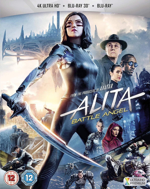 Amazon Com Alita Battle Angel 3d 4k Uhd And Blu Ray 2019