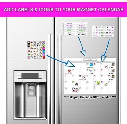 Amazon.com: XOXO Parents - Calendario de nevera con números ...