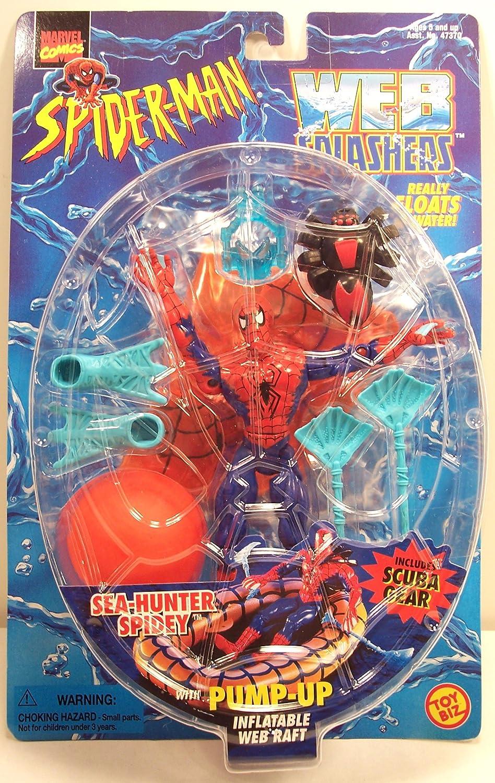 Spider-man Web Splashers Sea Hunter Spider-man Action Figure by Spider-Man
