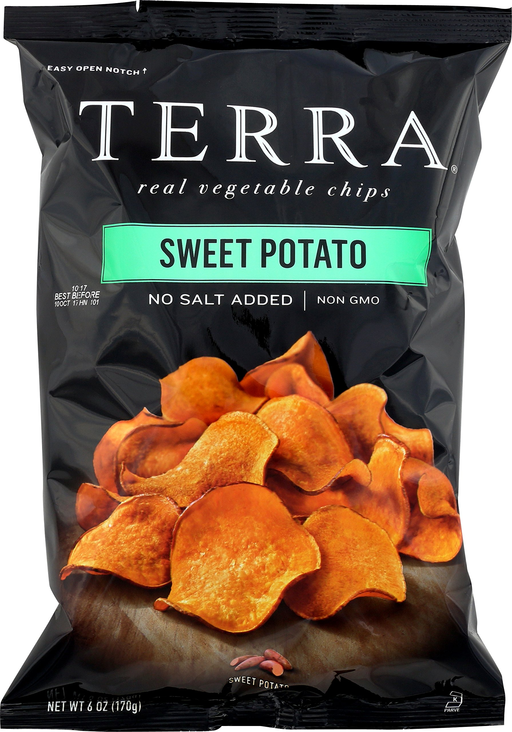 Terra Sweet Potato, No Salt Added, 6 oz