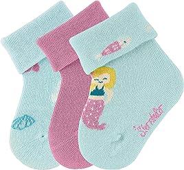 Herstellergr/ö/ße M/ädchen Glitzer Flitzer Sun Kakadu Socken , Marine 300 Sterntaler Baby per pack Blau