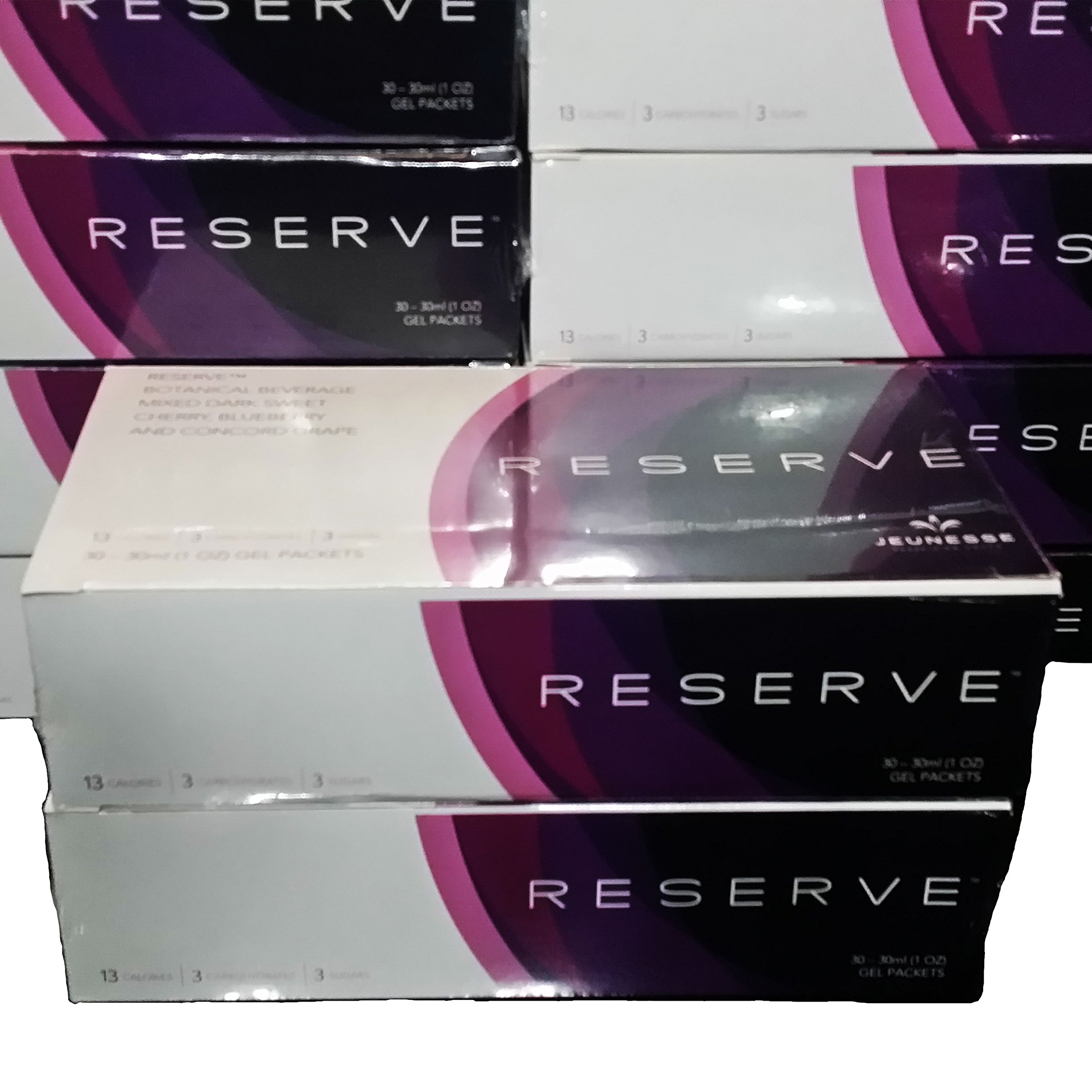Pack-of-2 Boxes Jeunesse Reserve Antioxidant Botanical Fruit Blend -2x30 (1 Oz) Gel Packets by Reserve (Image #1)
