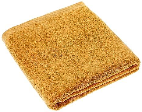 Lasa Home – Toalla de baño, algodón, Miel, 100 x 150 x 1