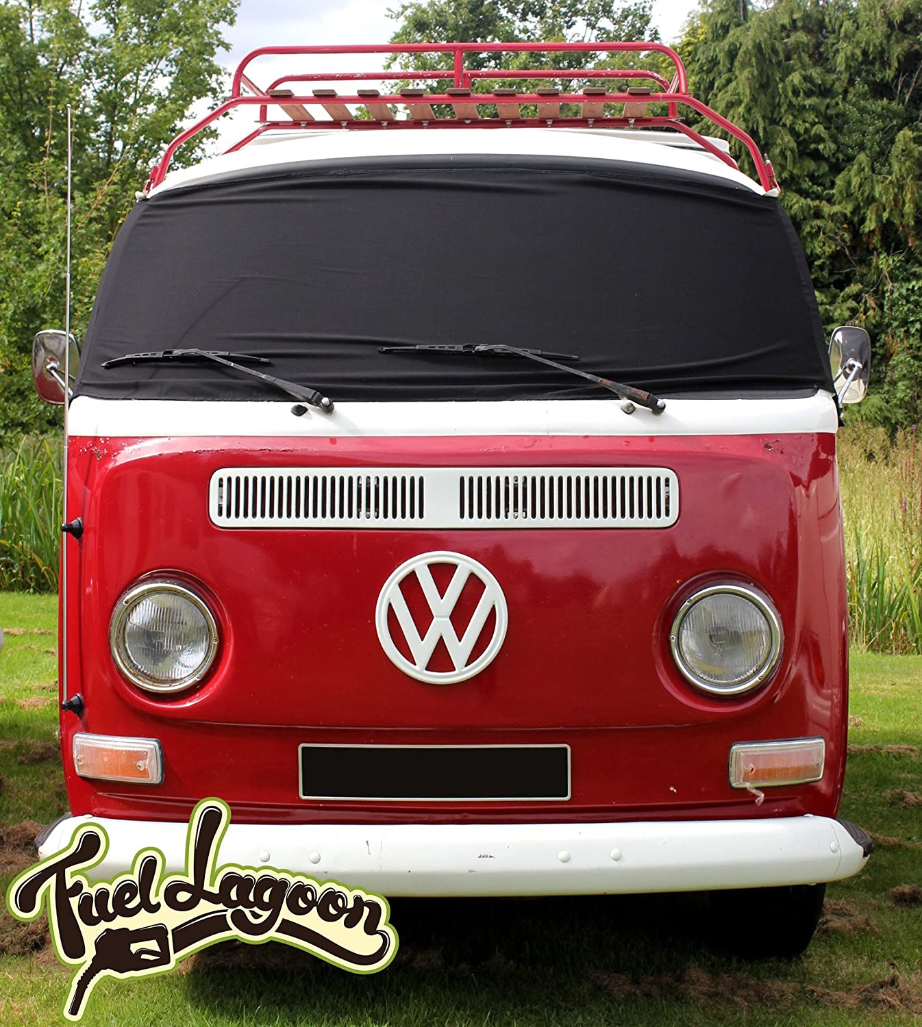 Vw T2 Bay Window Camper Front Screen Curtain Wrap Cover Blinds Winscreen Type 2 Auto
