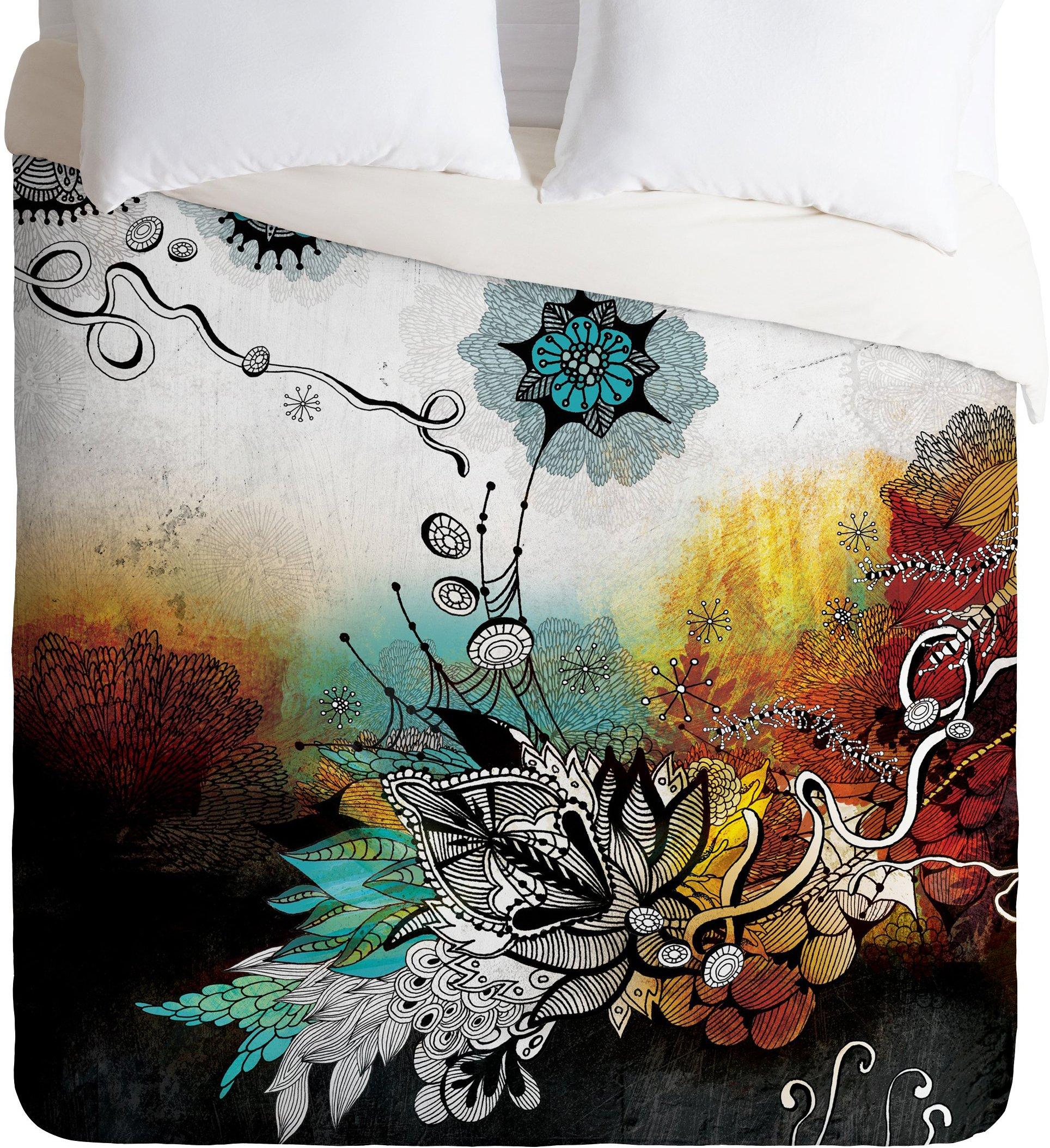 Deny Designs Iveta Abolina Frozen Dreams Duvet Cover, Queen