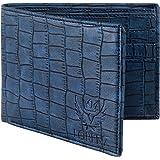 Lorenz Texture Blue Wallet for Men & Boys - WL-06