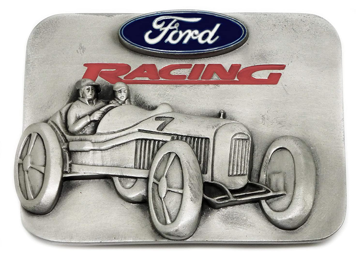 Ford Racing Belt Buckle 3D Vintage Car Design Authentic Officially Licensed Product