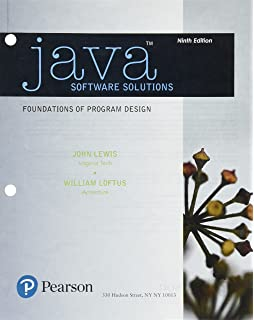 Java software solutions plus mylab programming with pearson etext java software solutions student value edition plus mylab programming with pearson etext access card fandeluxe Choice Image