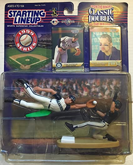 Alex Rodriguez 1999 Starting Lineups Classic Doubles From The Minors Majors