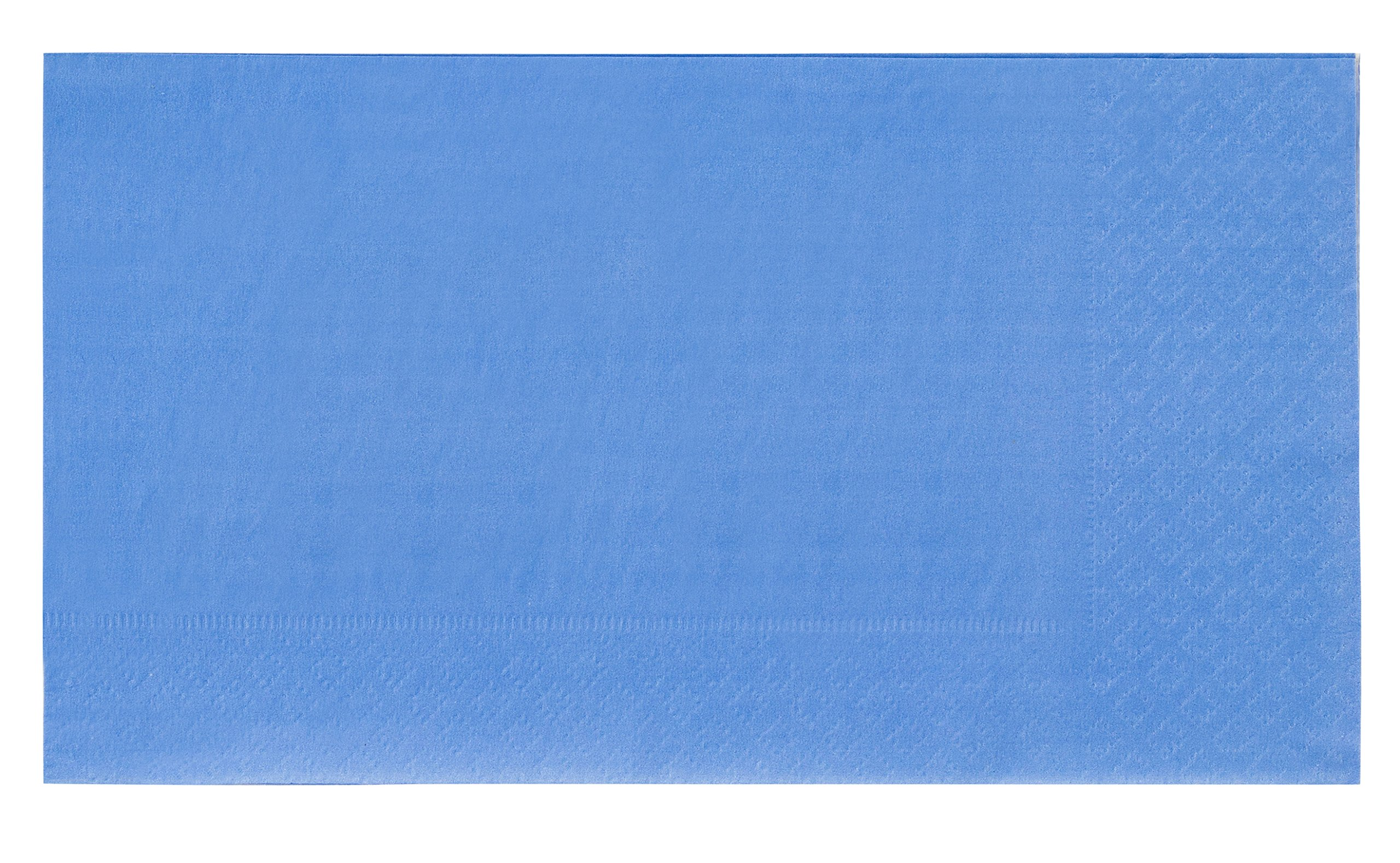Paper Napkins - 120-Pack Disposable Paper Napkins - 2-Ply Absorbent Napkins for Everyday Kitchen, Weddings, Birthday Parties, Blue, 15.5 x 13 Inches