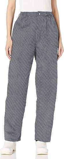 Uncommon Threads Pantalones De Chef Ejecutivo Para Mujer Amazon Com Mx Ropa Zapatos Y Accesorios