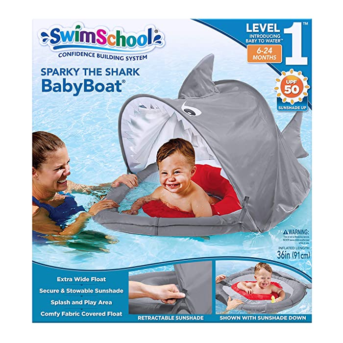 Top 10 Swimschool Baby Float Sparky The Shark