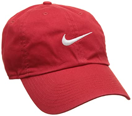 6fd507bc4f0a6 ... canada nike heritage 86 swoosh tennis cap for man red university red  white 0e8bb d8b6f